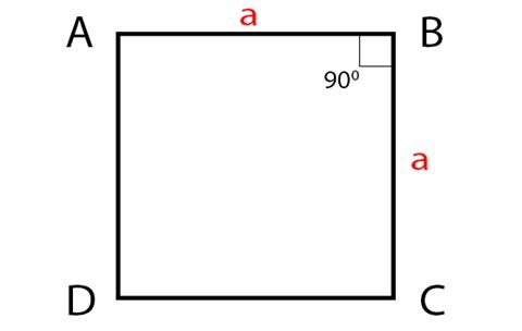 Các cạnh đều vuông góc
