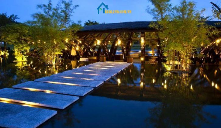 Nhà hàng tre Bamboo Wing đoạt giải Kiến trúc Quốc tế lấy ý tưởng từ cánh chim