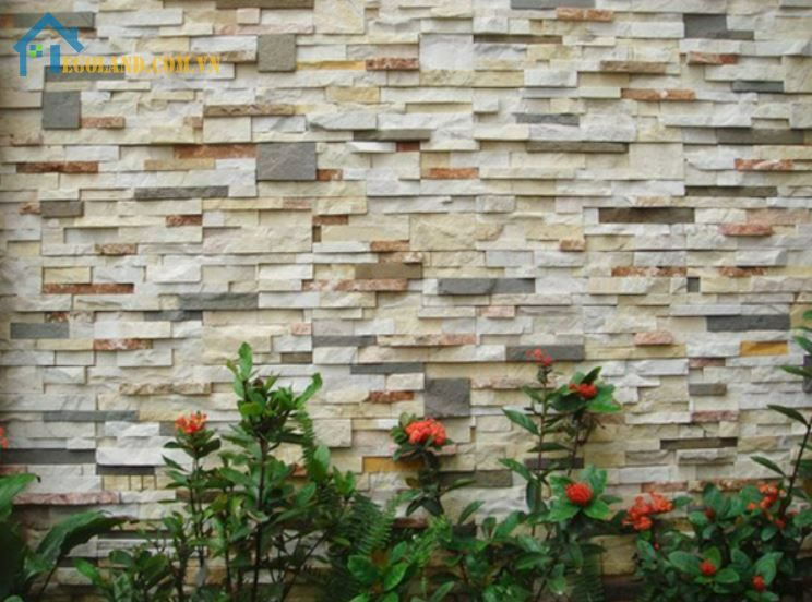 Gạch giả đá ốp tường 3D