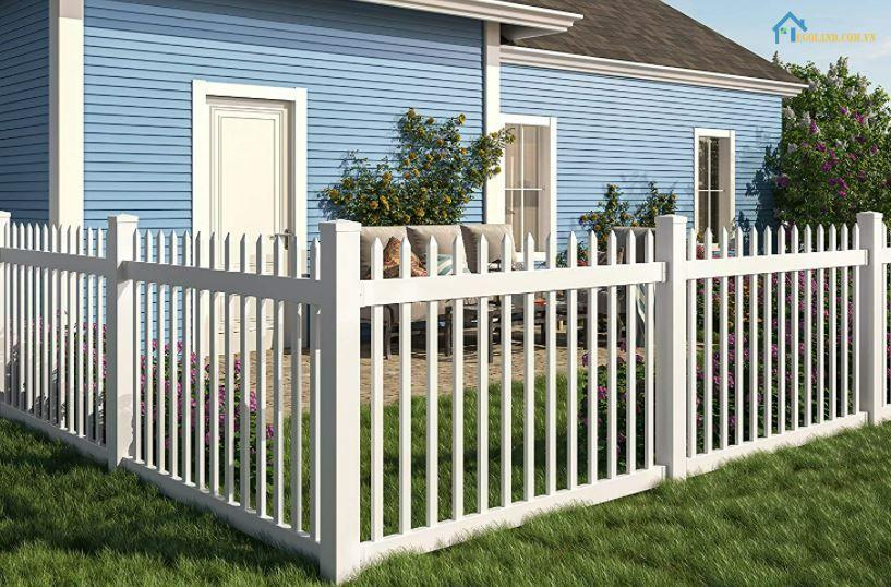 MẪu hàng rào sắt hộp bảo vệ đẹp