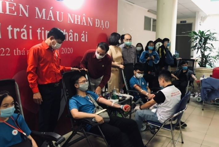 Hoạt động hiến máu nhân đạo ngày 26-3 hằng năm