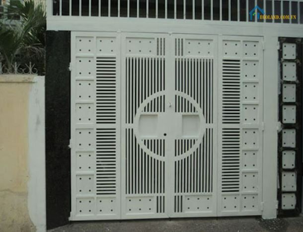 Kích thước mẫu cửa inox 4 cánh