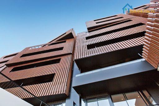 Lam chắn nắng hình hộp có thể ứng dụng ở nhiều công trình khác nhau từ ngoài trời cho tới trong nhà
