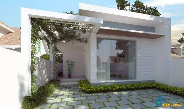 Nhà cấp 4 mái bằng là mẫu nhà được sử dụng nhiều nhất hiện nay