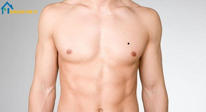 Trái với phụ nữ,đàn ông sở hữu nốt ruồi ở ngực lại mang nhiều điều không tốt đến cuộc sống của họ