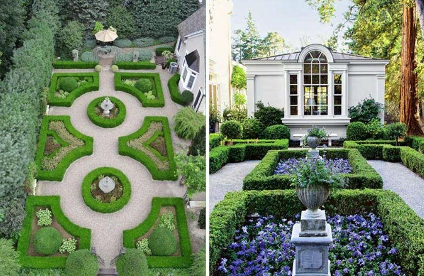 Thiết kế sân vườn theo phong cách Chau Âu