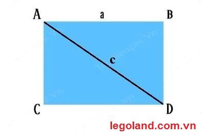 Tính chất đường chéo trong hình chữ nhật