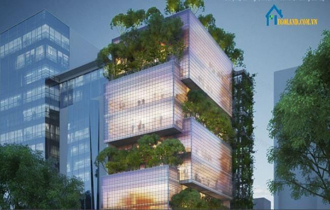 Tòa nhà Nanoco được mệnh danh như một hộp trang sức lớn tại tp.HCM