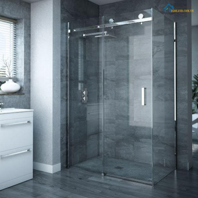 Vách kính nhà tắm cửa lùa là gì?