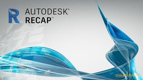Phần mềm Autodesk recap