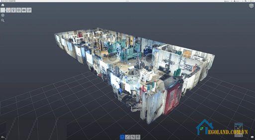 Sử dụng Autodesk recap để mô phỏng mô hình 3D