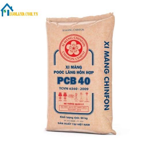 Giá xi măng Chinfon giao động khoảng 83.000 vnd/bao 50 kg