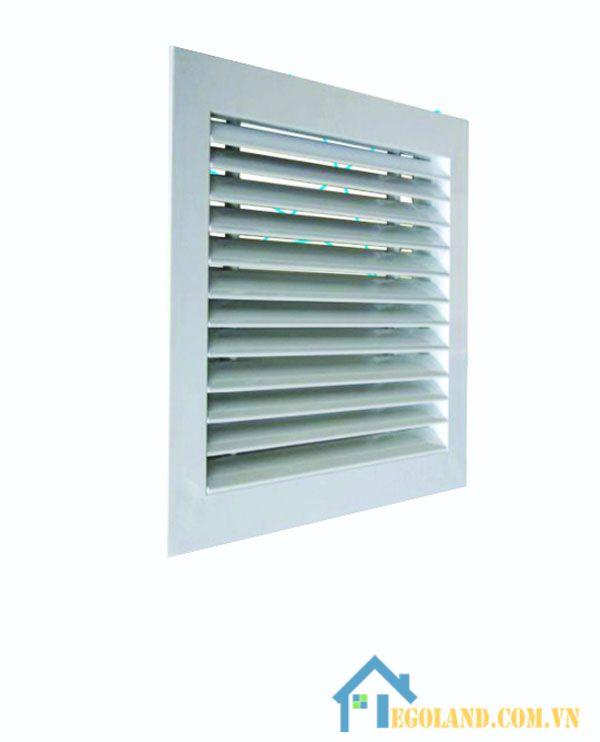 Cửa Louver là cửa dùng để thanh lọc không khí