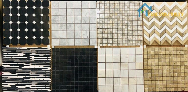 Tổng hợp các mẫu gạch mosaic