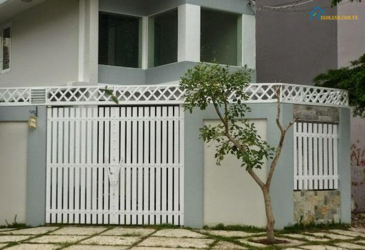 Mẫu hàng rào sắt hộp đẹp
