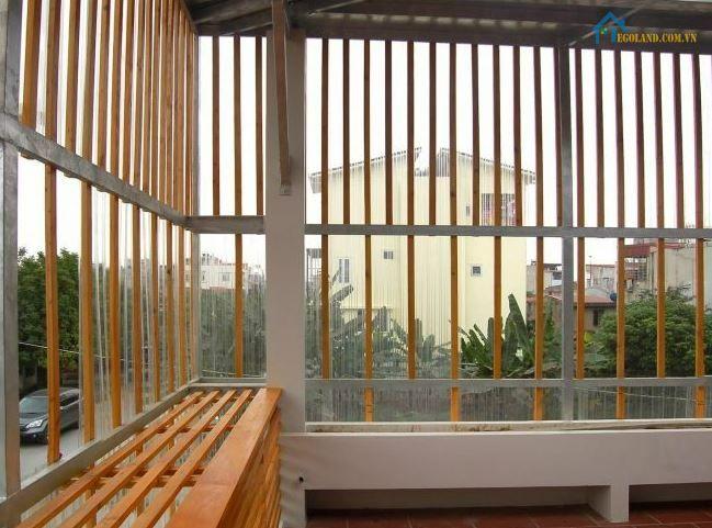 Mẫu hàng rào sắt hộp mạ kẽm sân thượng