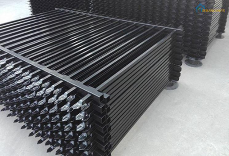 Mẫu hàng rào sắt làm sẵn