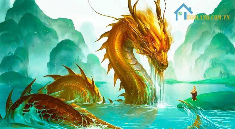 Rồng vàng tượng trưng cho quyền lực