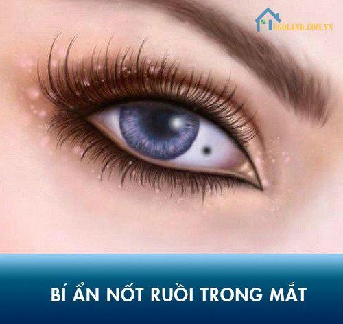 Nốt ruồi trong mắt mang ý nghĩa tâm linh