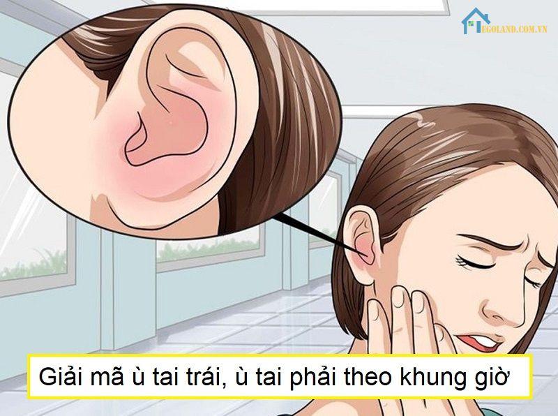 Mỗi khung giờ và lỗ tai sẽ cho ra thông điệp khác nhau