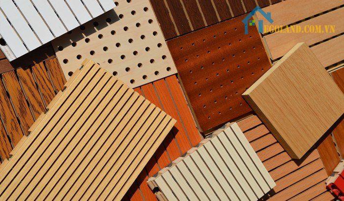 Kiểu dáng và kích thước của gỗ tiêu âm đục lỗ khác với loại gỗ thông thường