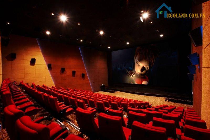 Gỗ tiêu âm ứng dụng vào rạp chiếu phim để giảm tạp âm
