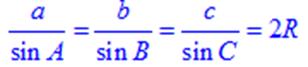 Định lý Sin