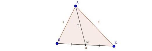 Hình minh họa tam giác ABC